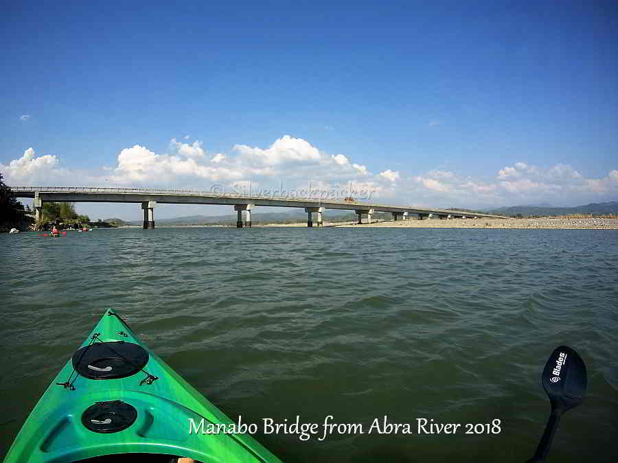 Manabo Bridge kayaking on Abra River