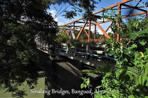 Old and New Sinalang Bridge, Brgy Lipcan, Bangued, Abra