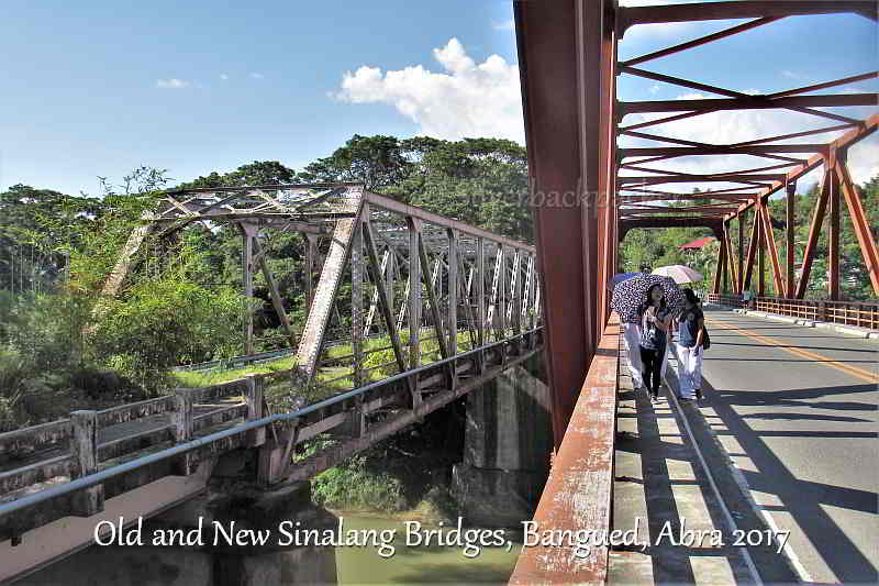 Old and New Sinalang Bridge, Bangued, Abra