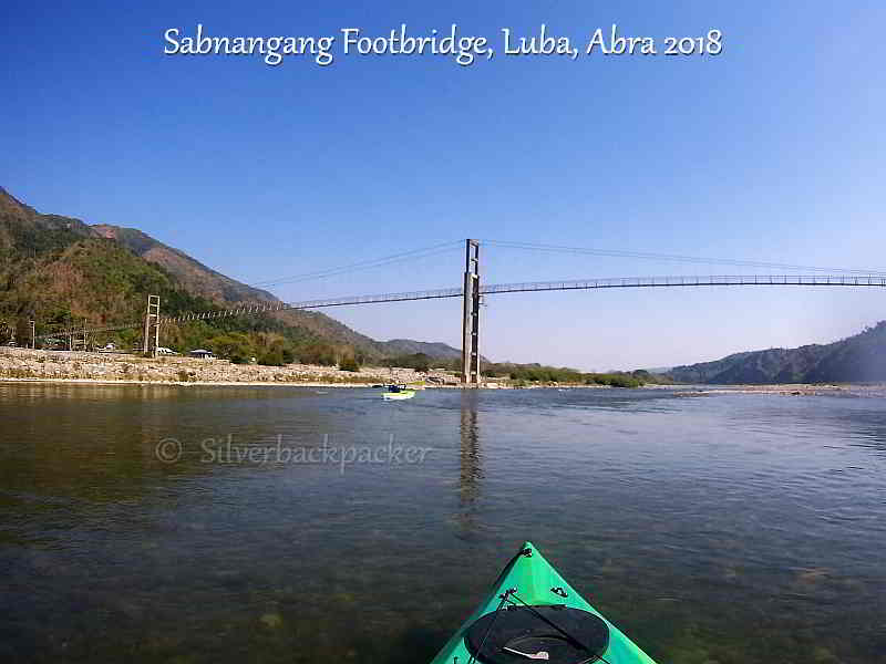 Sabnangang Footbridge, Luba, Abra