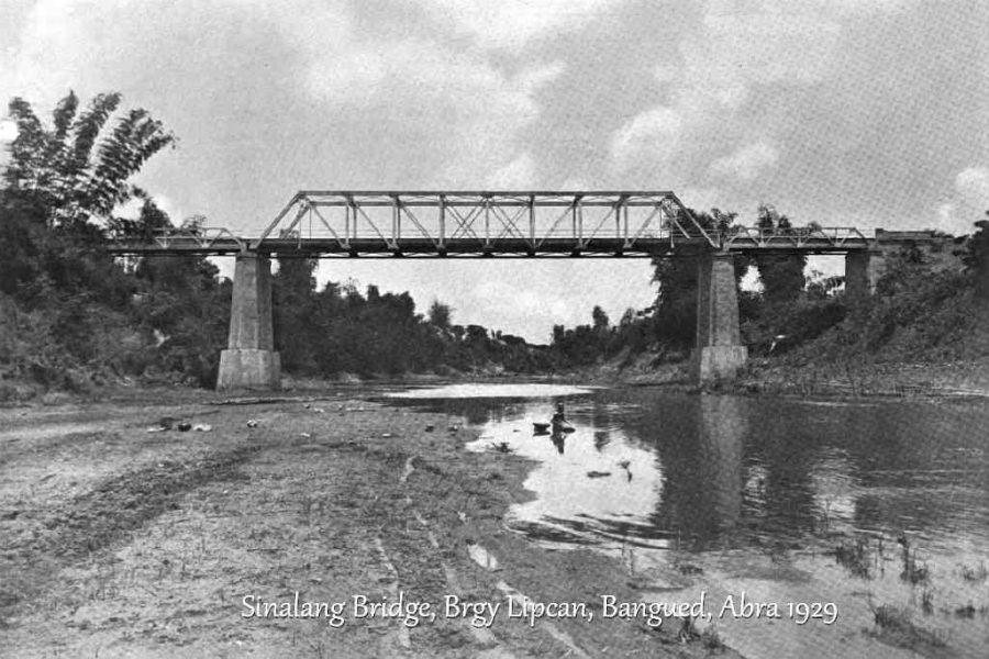 Sinalang Bridge, Brgy Lipcan, Bangued, Abra 1929