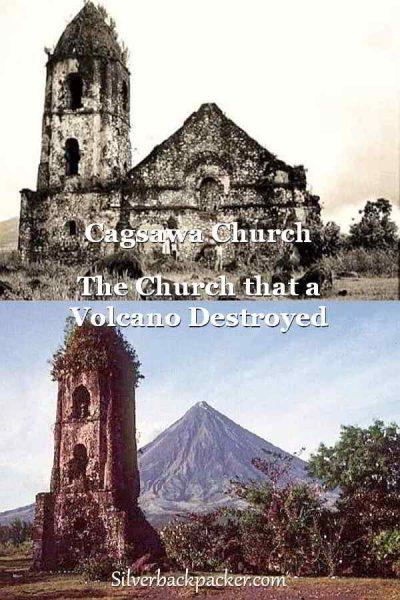 Cagsawa Church and Mayon Volcano, Daraga, Philippines