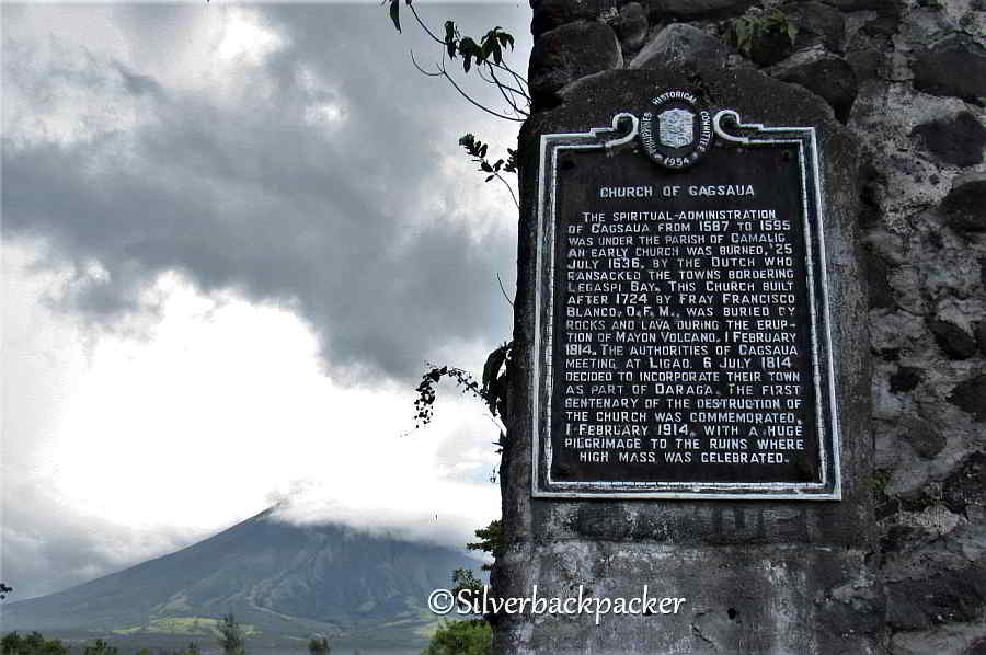 Cagsawa Church NCCA Marker