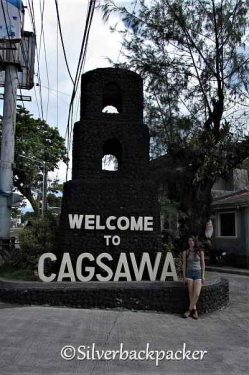 Cagsawa Welcome sign