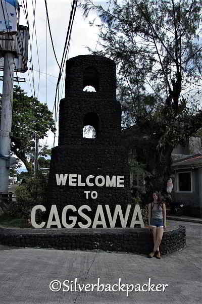 Cagsawa Welcome sign, Daraga Philippines