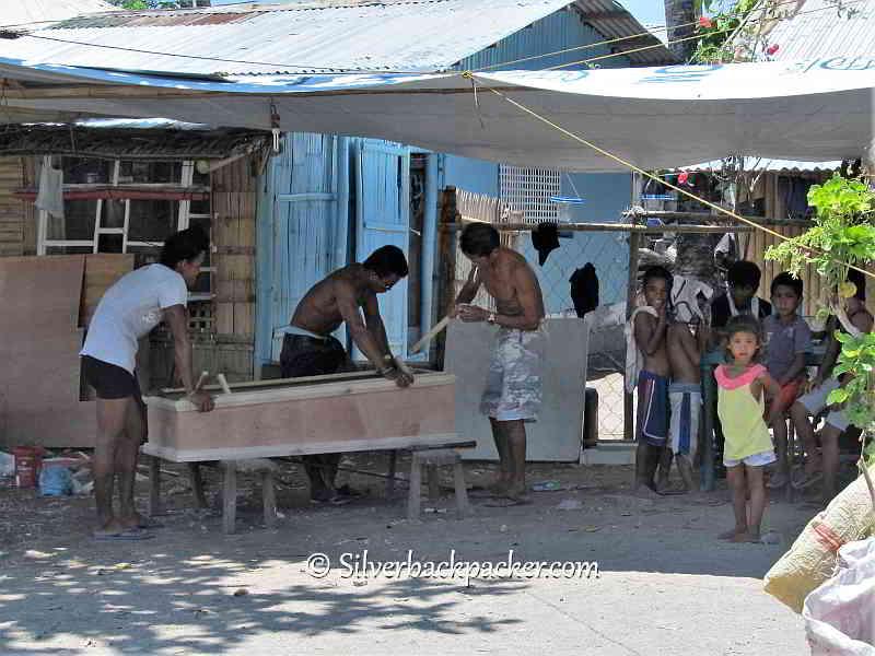 Malalison Island funeral business