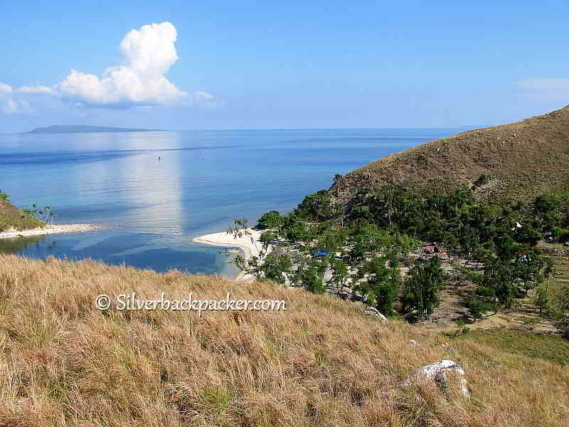 Malalison Island the far end of the island