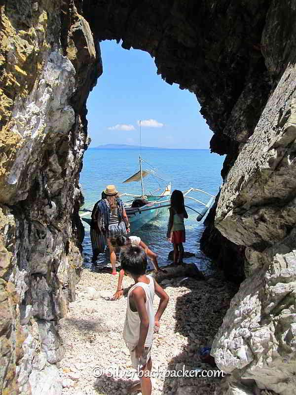 Malalison Island. Pedros secret cove