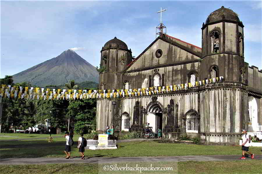 Malilipot Church, Albay, Philippines