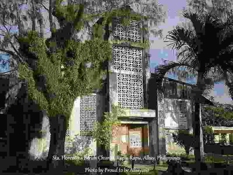 Sta. Florentina Parish Church, Rapu-Rapu, Albay, Philippines Photo by Proud to be Albayano