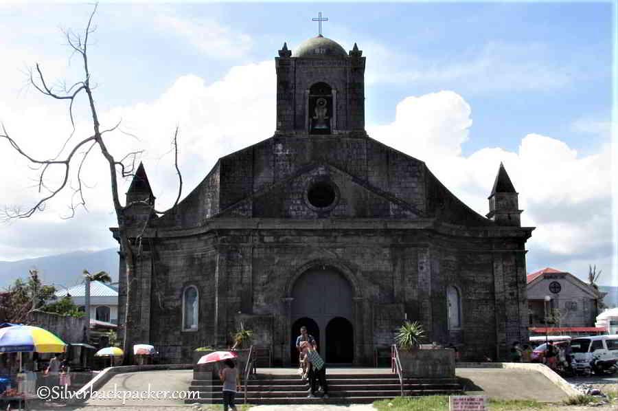 Tiwi Church, Albay, Philippines simbang gabi