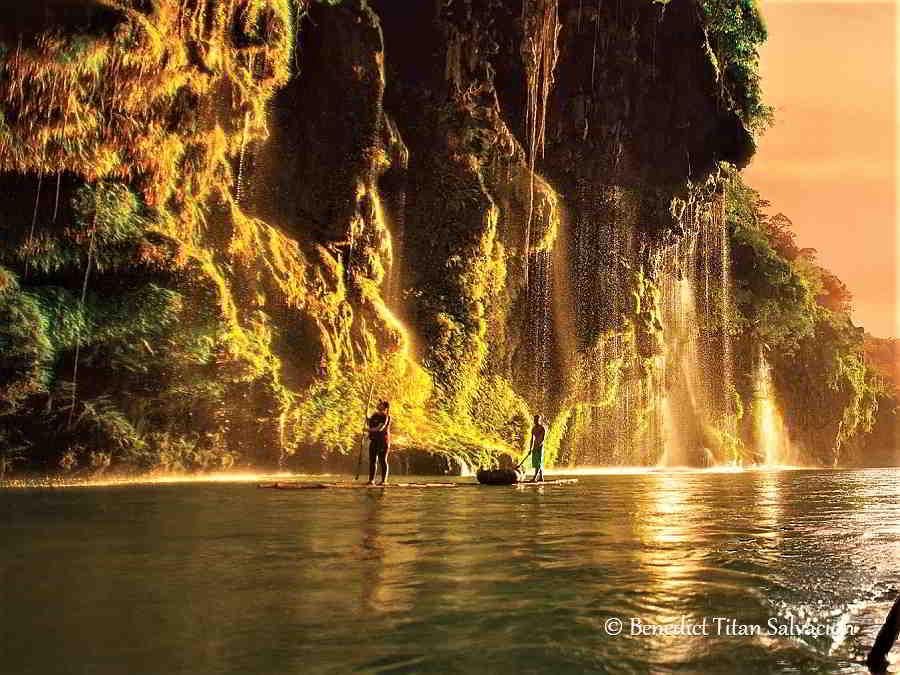 Bamboo Rafting at Ar-Arbis Falls, Pang-Ot, Lagayan, Photos of Abra 2019