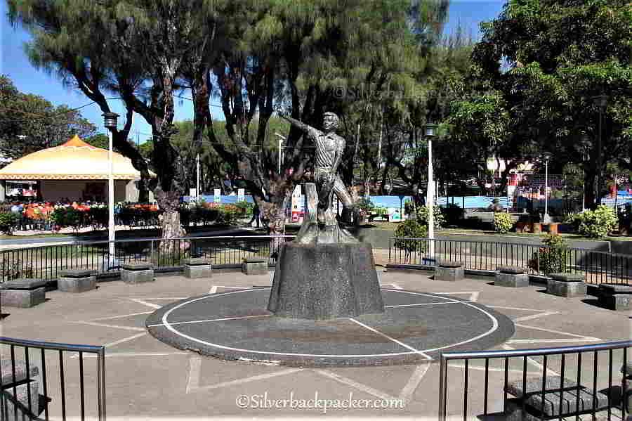 Evalio Javier Statue, San Jose, Antique,Philippines