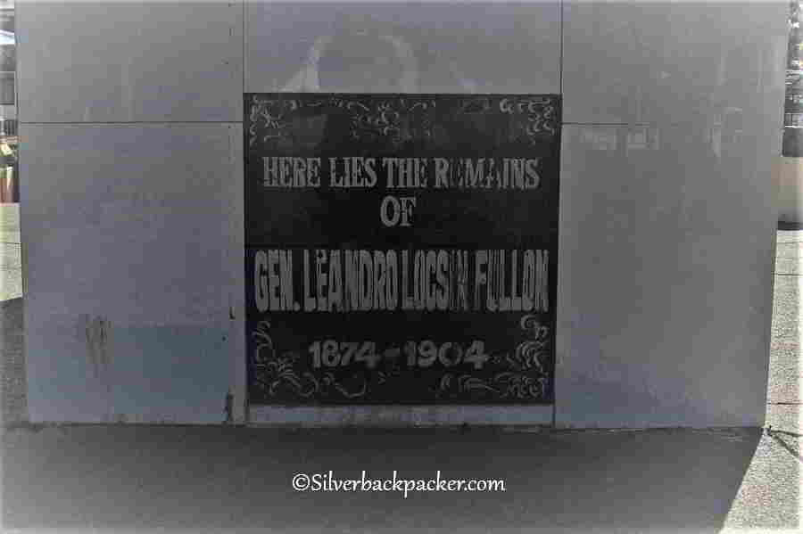 General Leandro Fullon Shrine Plaque, Hamtic Plaza, Historical Markers and Monuments Antique, Philippines