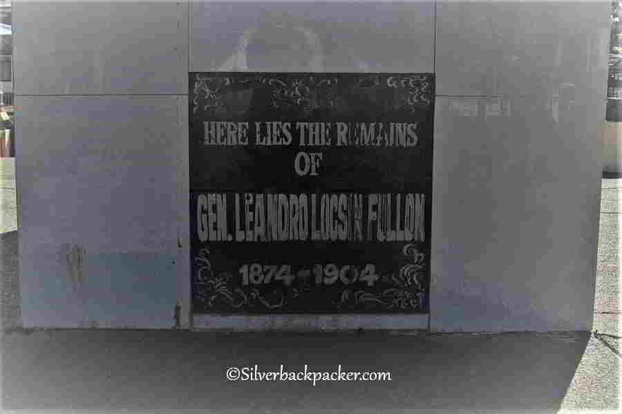 General Leandro Fullon Shrine Plaque, Hamtic Plaza, Historical Markers and Monuments Antique, Philippines