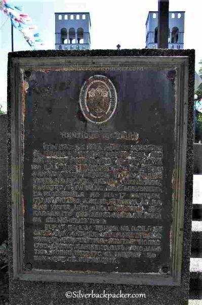 Hamtique Historical Institute Marker, Hamtic, Antique, Philippines