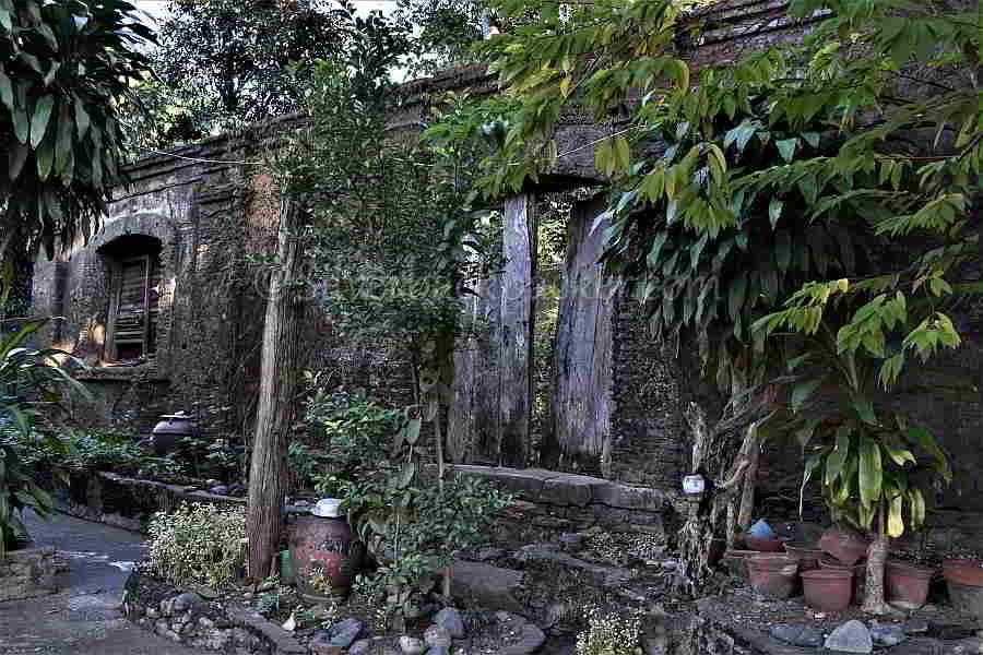 Jerimias Bringas ancestral house wall and door, Pidigan Cultural Property, Abra