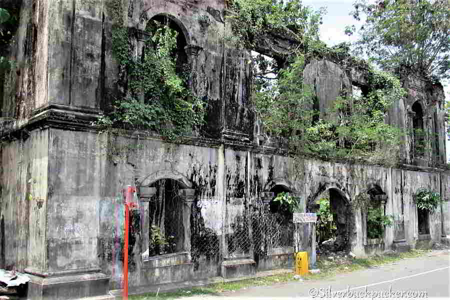 Ruins of the Spanish Patnongan Municipal Building, Historical Markers and Monuments Antique, Philippines