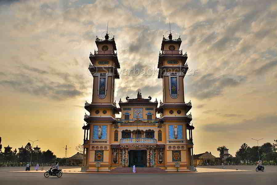 Cau Dai Temple, Ho Chi Min walking tour, Vietnam
