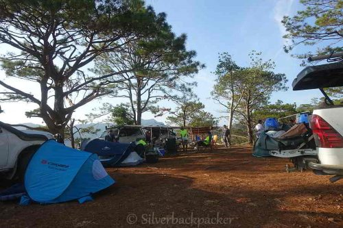 Camping at Dadamuen Viewdeck, Nagaparan, Danglas, Abra