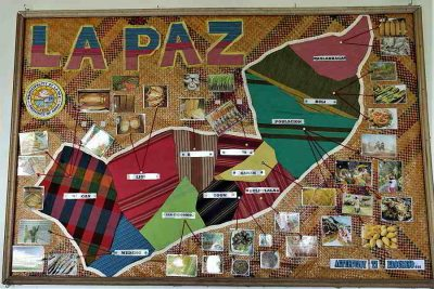 La Paz Barangays Products Map