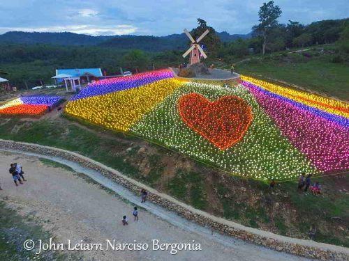 Layugan Gardens, 10000 tulips, Bucay