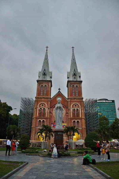 Saigon Notre Dame Basilica, Ho Chi Minh, Vietnam