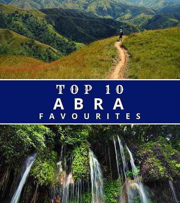 Abra's Top Ten Favourite Tourist Spots
