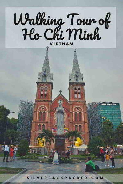 Walking tour of Ho Chi Minh, Vietnam