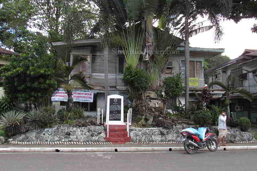 Site of Casa Real, Dapitan where Rizal first lived in Dapitan