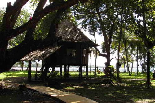 The Casa Redonda. Rizals clinic in Talisay, Dapitan