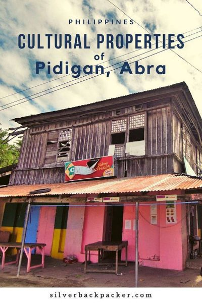 Cultural Properties of Pidigan, Abra, Philippines