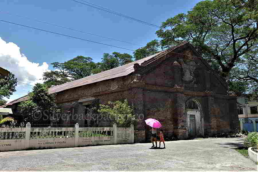 Front and side views of Pidigan old church ruins, Abra. forgotten heritage