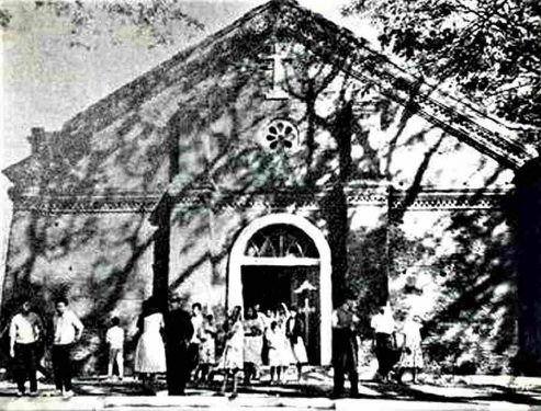 Pidigan old church in late 1800s. Cultural Property of Pidigan