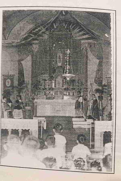 Retablo, Altar Old Pidigan church, Abra, Philippines