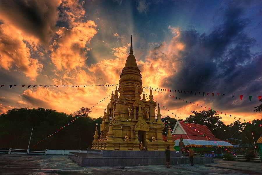 Laem Sor Pagoda, Taling Ngam, Ko Samui District, Surat Thani, Thailand