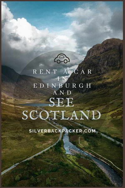 Rent a car for a road trip. Things to do in Edinburgh, Scotland