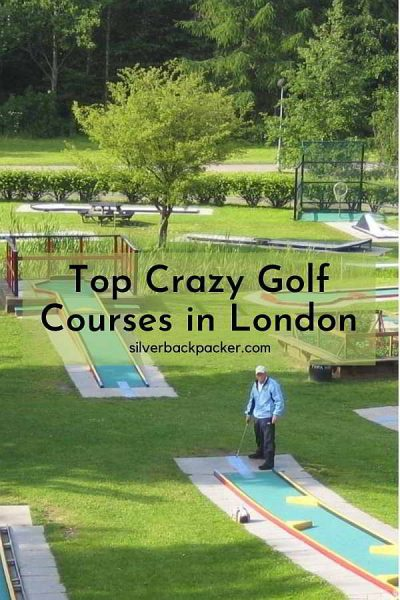 Top places to Play Crazy Golf in London