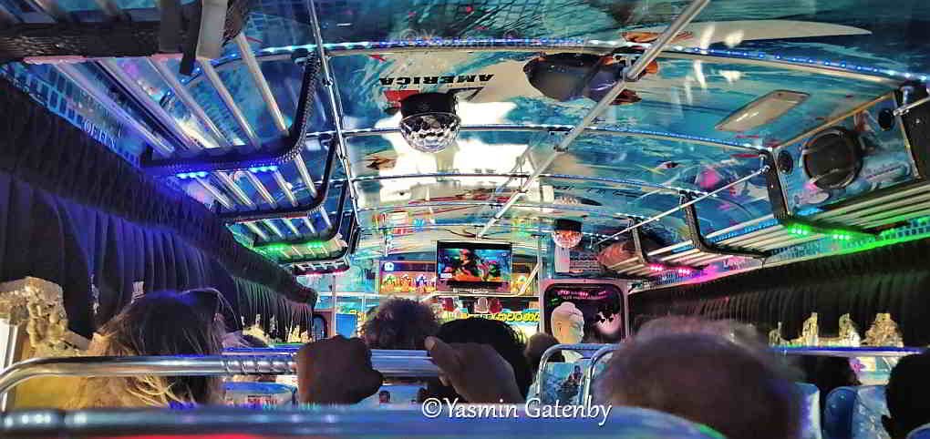 A bus journey in Sri Lanka