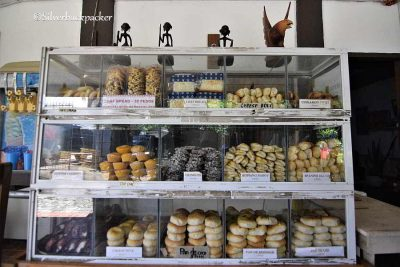 Bakery at Baquero Country Inn, Abra, Philippines