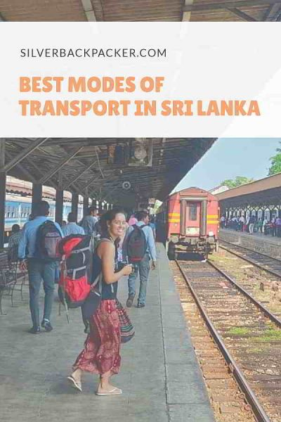 Best Modes of Transport in Sri Lanka