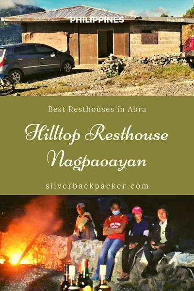 Best Resthouses in Abra Hilltop Resthouse, Nagpaoayan, Licuan-Baay