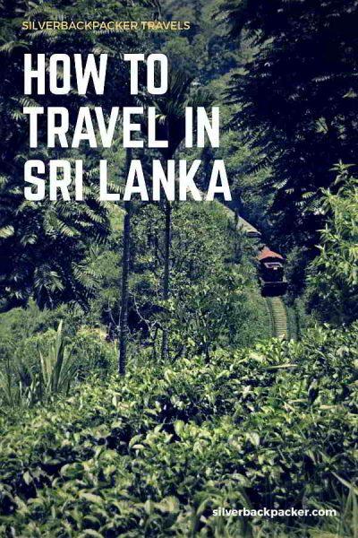 How to Travel in Sri Lanka