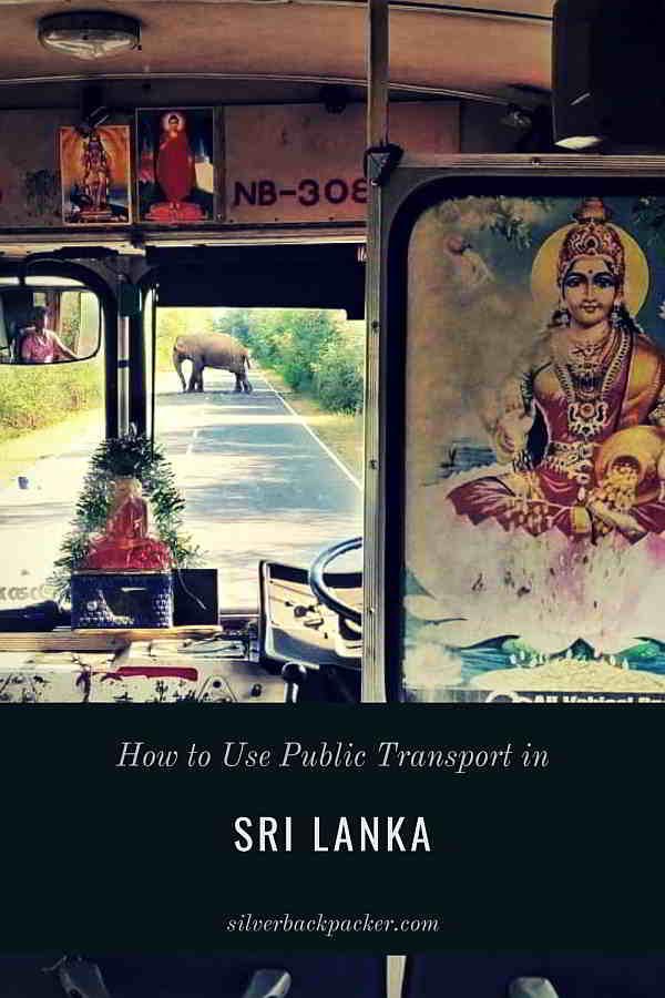 How to use public transport in Sri Lanka