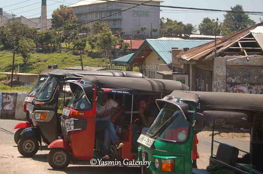 Sri Lanka transpport Tuk Tuks