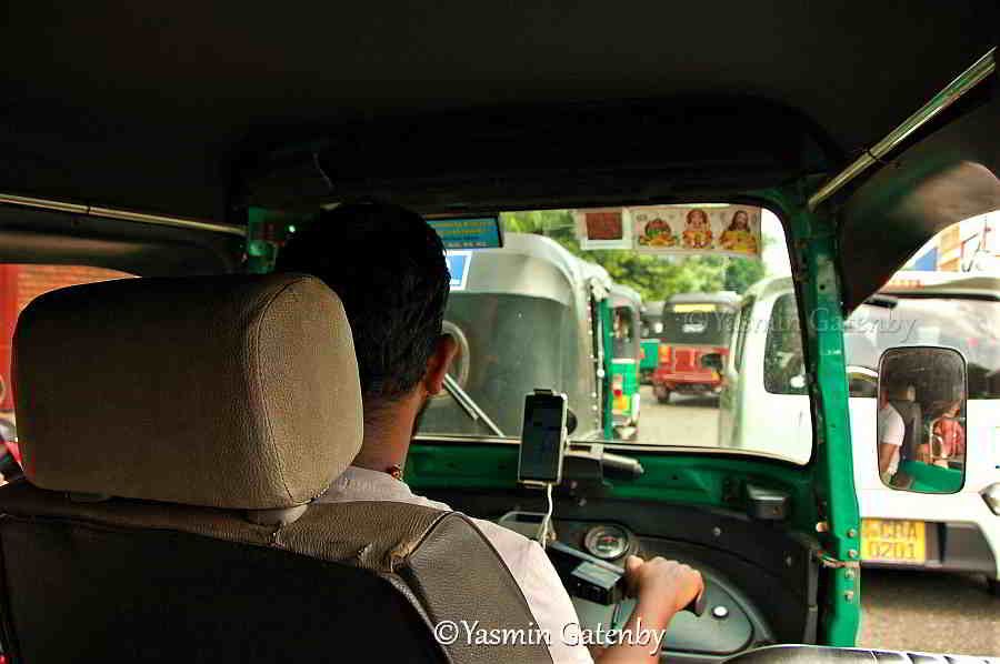 Tuk Tuks are popular form of transport in Sri Lanka