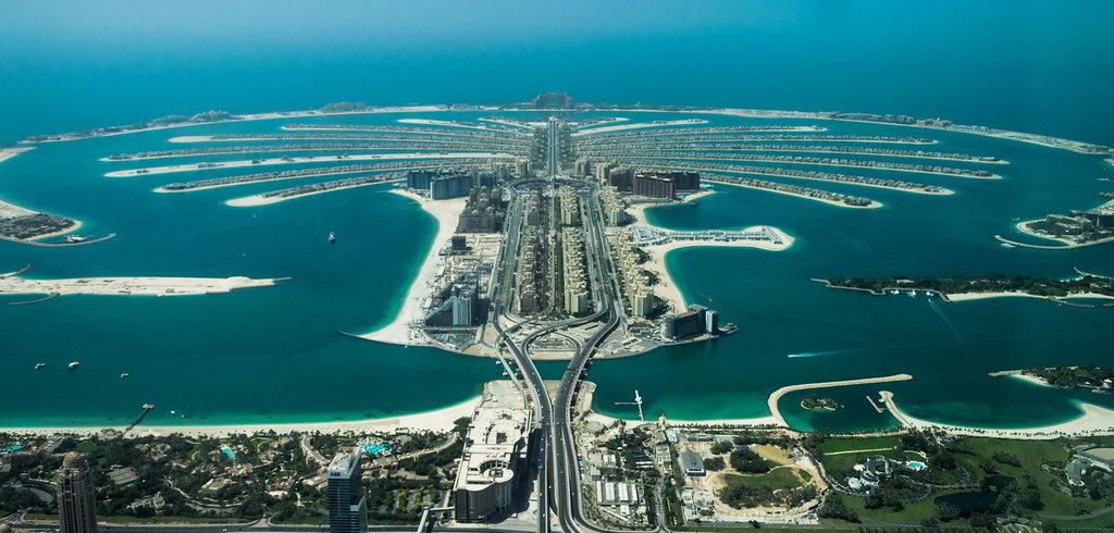 Palm Jumeirah Dubais artificial island