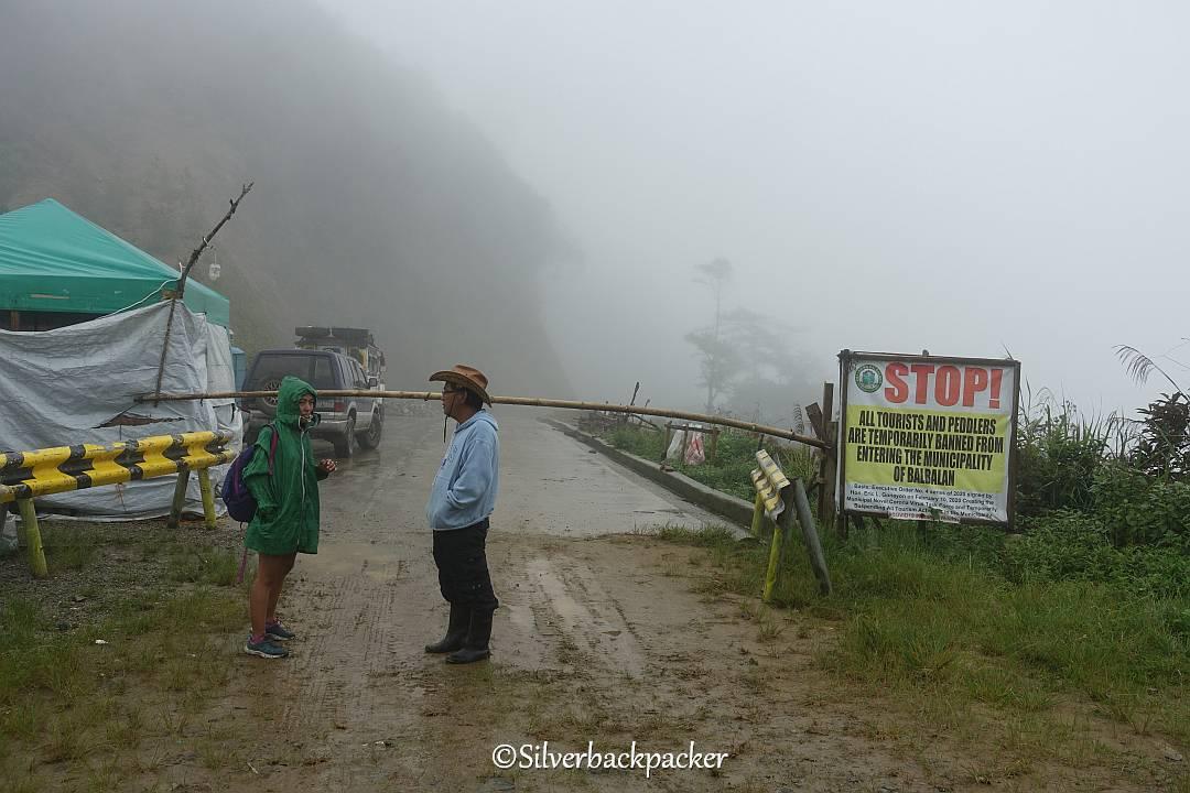 Abra Kalinga Border. End of Route 204 in Abra