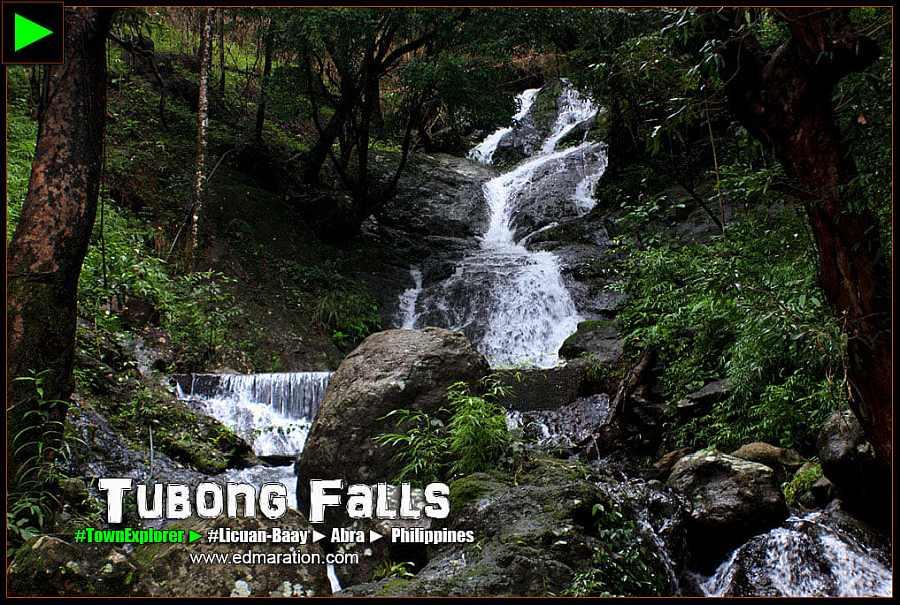 Bituen or Tubong Falls, Brgy Bonglo, Licuan-Baay, Abra. Photo Courtesy of Edmaration.com