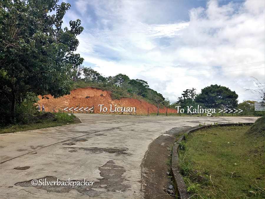 Licuan Junction km 456 Route 204 Abra Kalinga Road